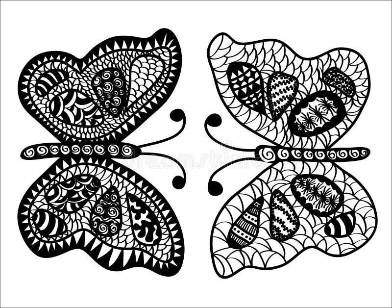 абстрактные бабочки стоковая фотография