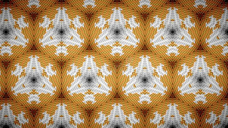 Абстрактные белые оранжевые обои цвета желтого цвета золота стоковые изображения