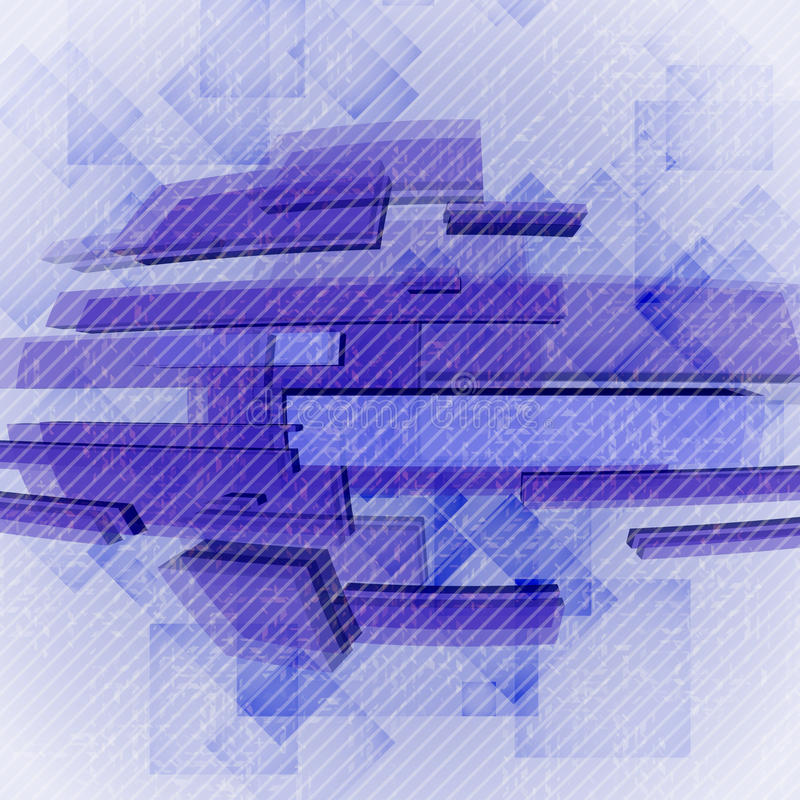 Абстрактные геометрические формы. иллюстрация вектора