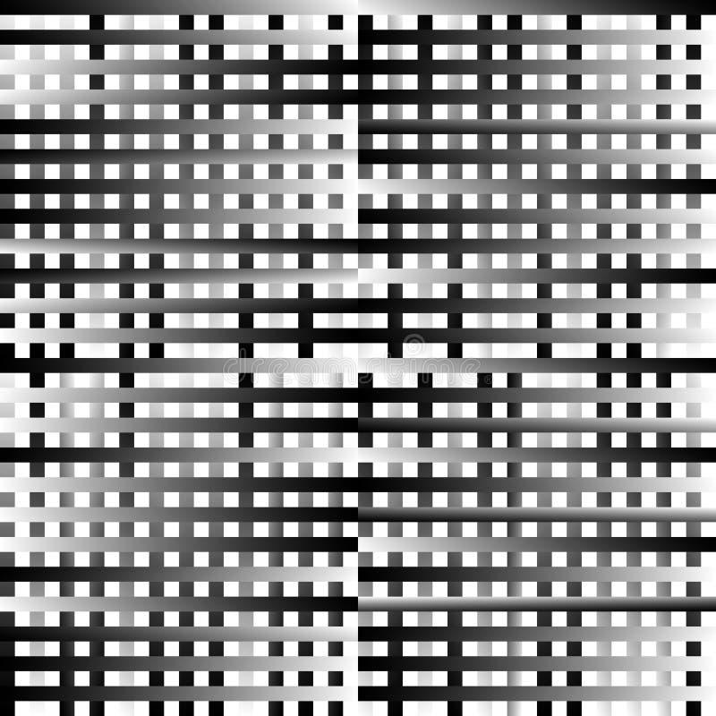 Download Абстрактные геометрические Monochrome графики с пересекая линиями Иллюстрация вектора - иллюстрации насчитывающей график, royalty: 81803987