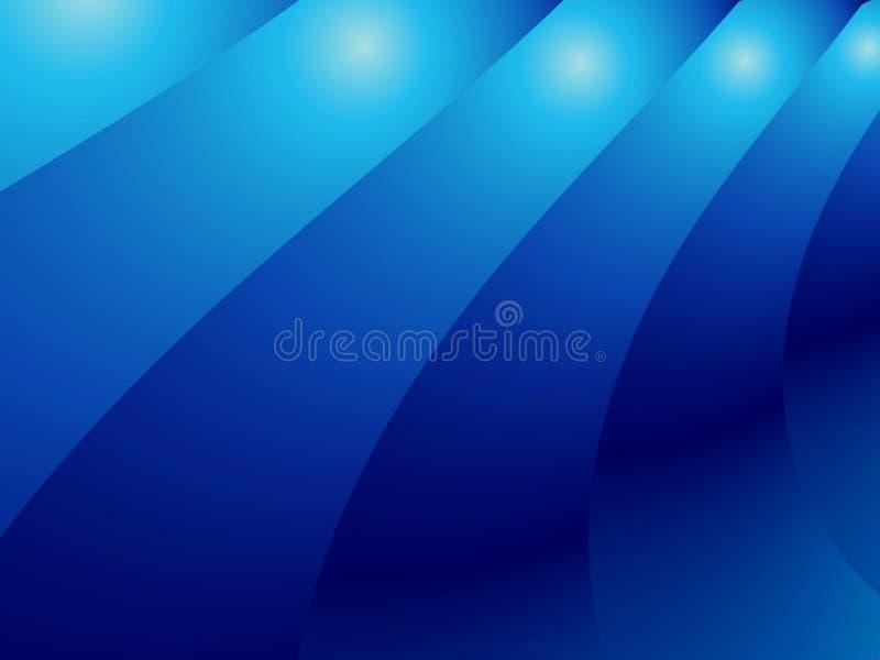 абстрактные голубые слои градиента стоковые фото