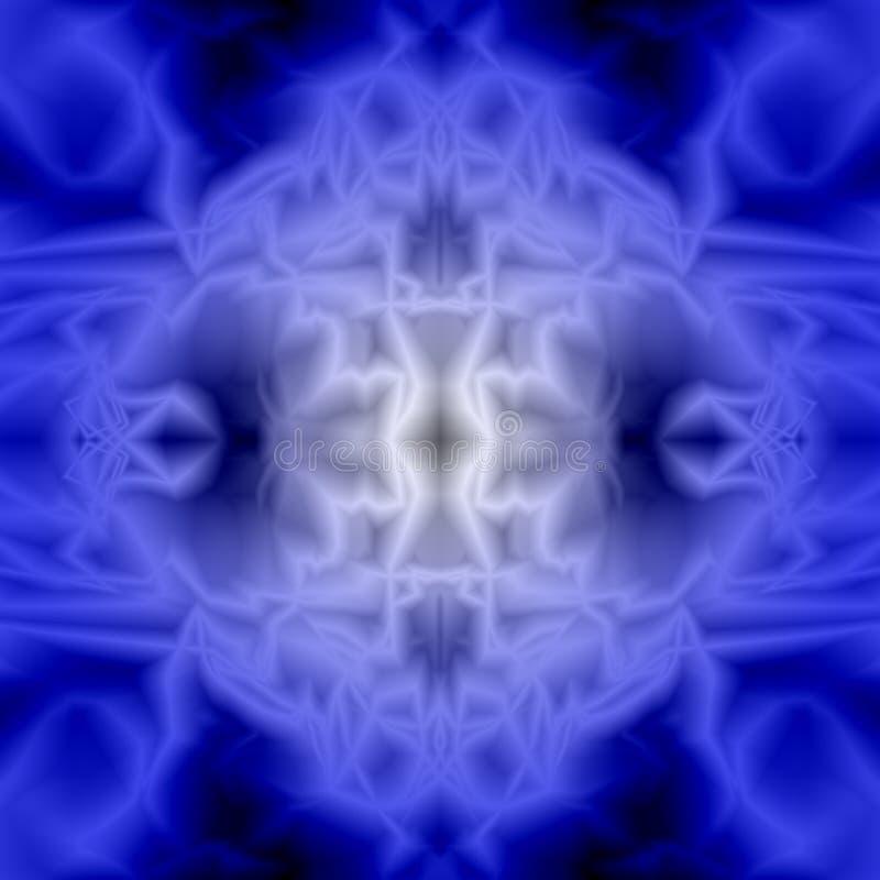 Абстрактные голубые предпосылка и текстура психоделический tracery стоковые изображения rf
