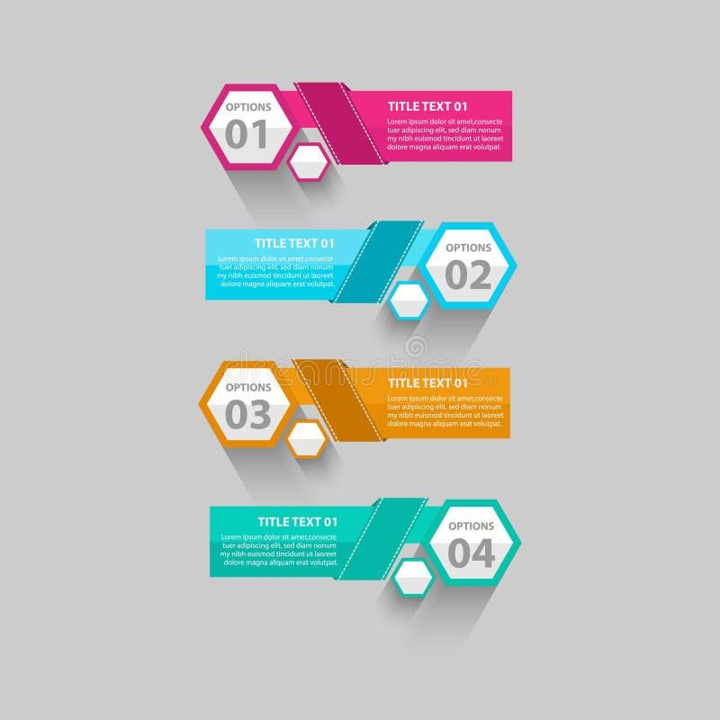 Абстрактные графики данным по значка логотипа шаблона дела элементов дизайна - вектор иллюстрация штока