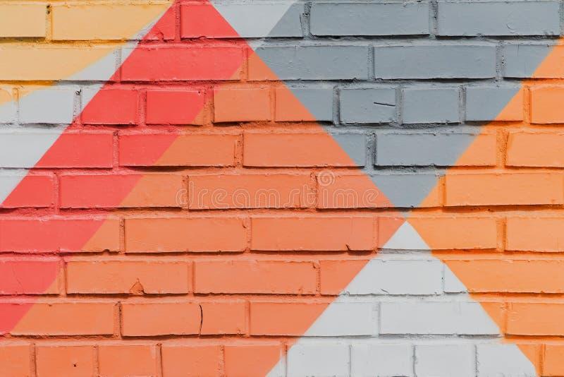 Абстрактные граффити на стене, очень малая деталь Конец-вверх искусства улицы, стильная картина Смогите быть полезный для предпос стоковые изображения