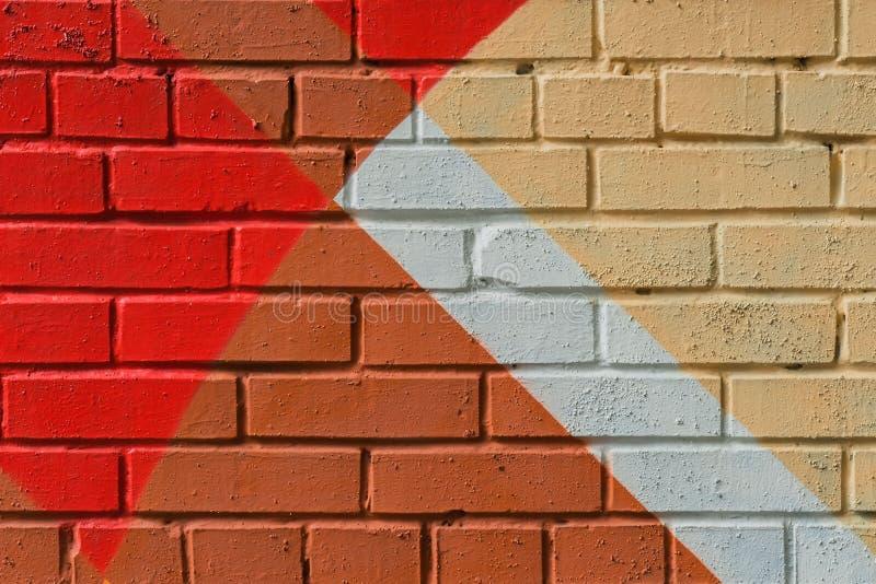 Абстрактные граффити на стене, очень малая деталь Конец-вверх искусства улицы, стильная картина Смогите быть полезный для предпос стоковые фото