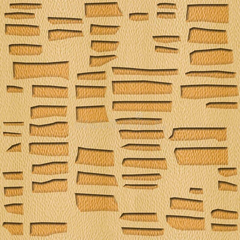 Абстрактные декоративные кирпичи - декоративный смотря на masonry иллюстрация штока