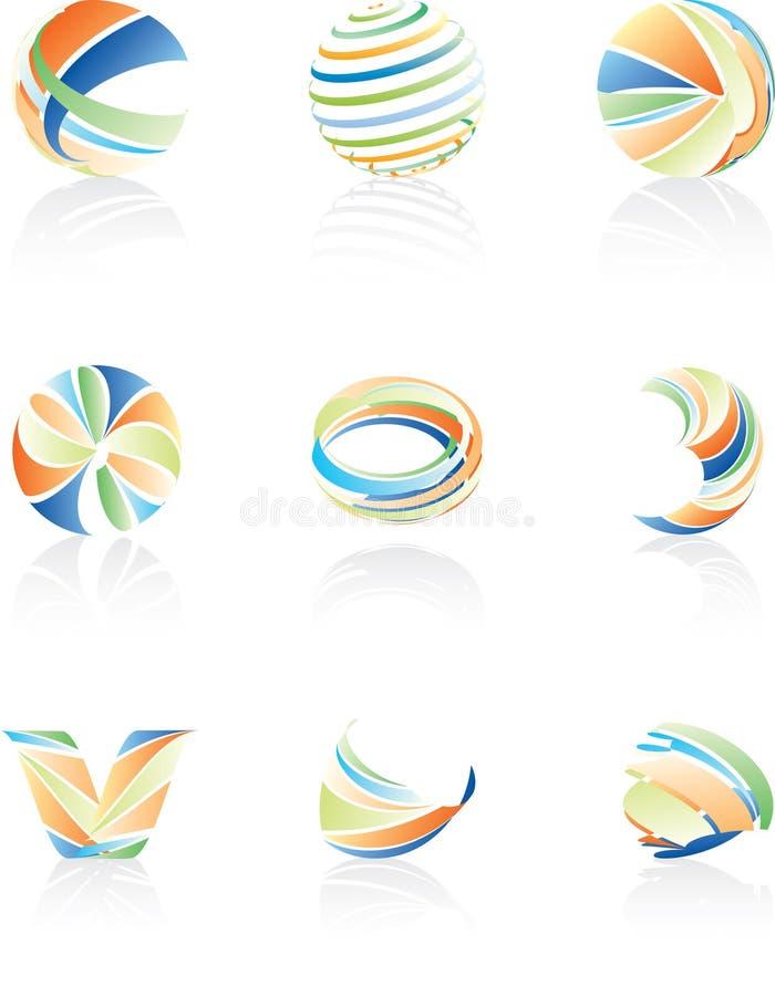 абстрактные журналы иллюстрация вектора