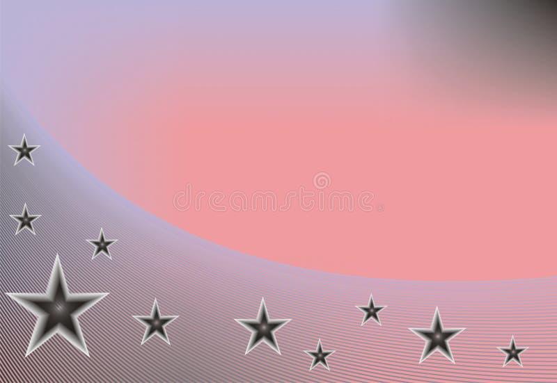абстрактные звезды предпосылки иллюстрация штока
