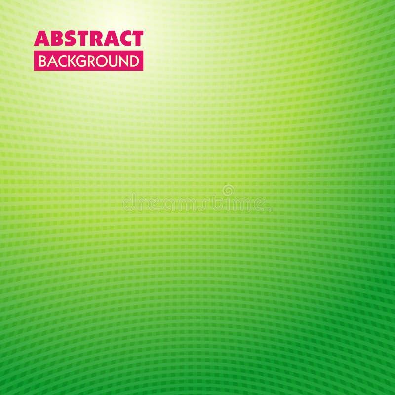 абстрактные зеленые линии весна предпосылки иллюстрация штока