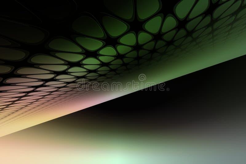 Download абстрактные зеленые линии иллюстрация штока. иллюстрации насчитывающей дело - 476338