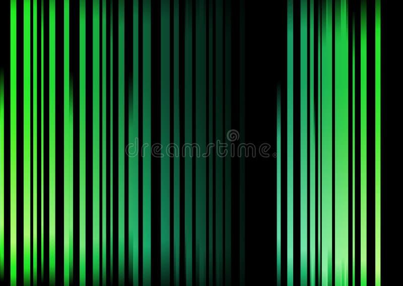 абстрактные зеленые striped тени стоковые фото