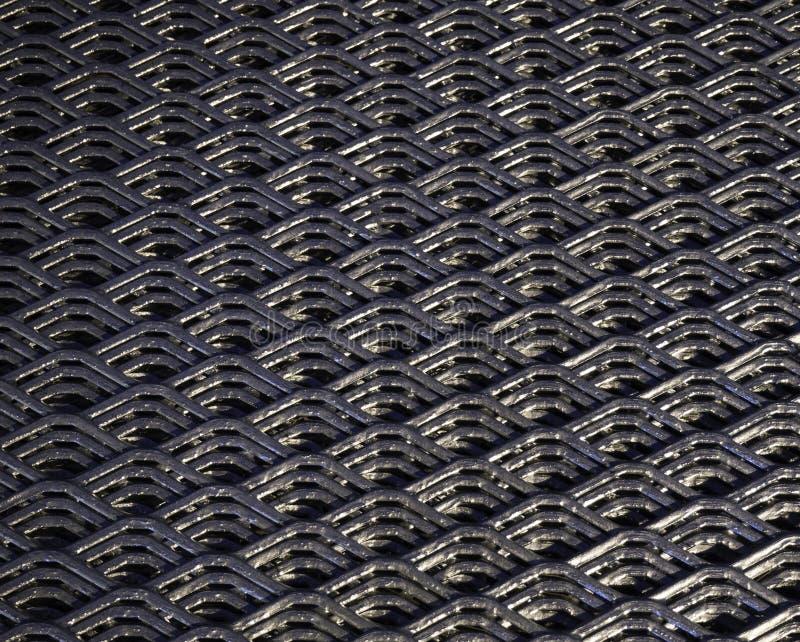 Абстрактные линии и промышленная картина сетки металла стоковое изображение rf