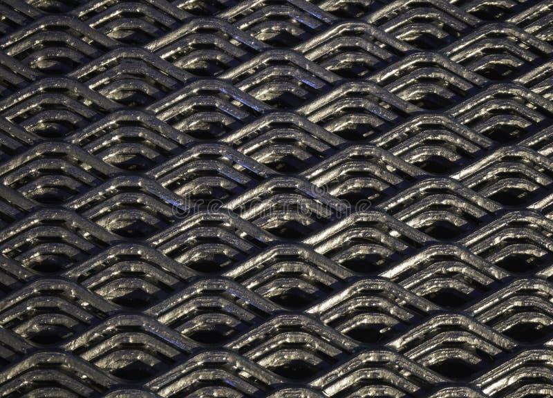 Абстрактные линии и промышленная картина сетки металла стоковые изображения