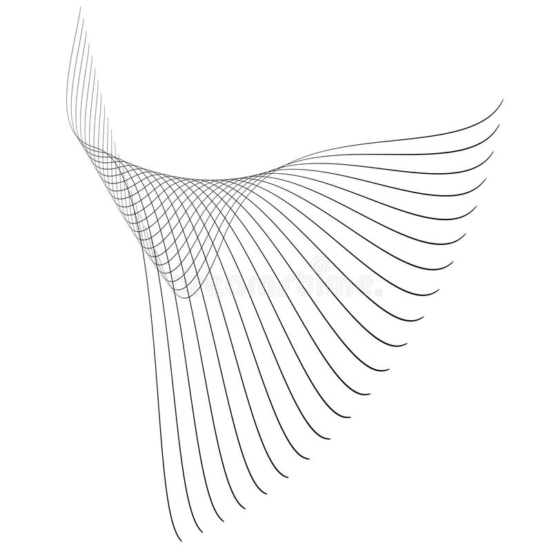 абстрактные линии бесплатная иллюстрация