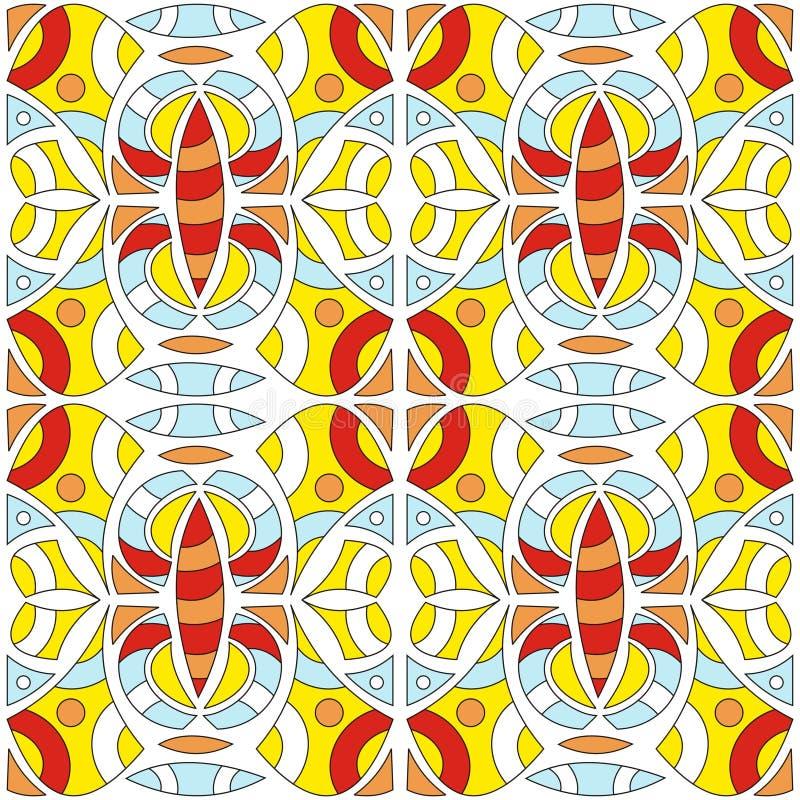 абстрактные картины иллюстрация вектора