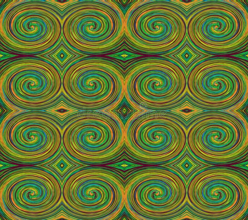 Абстрактные красочные круги бесплатная иллюстрация