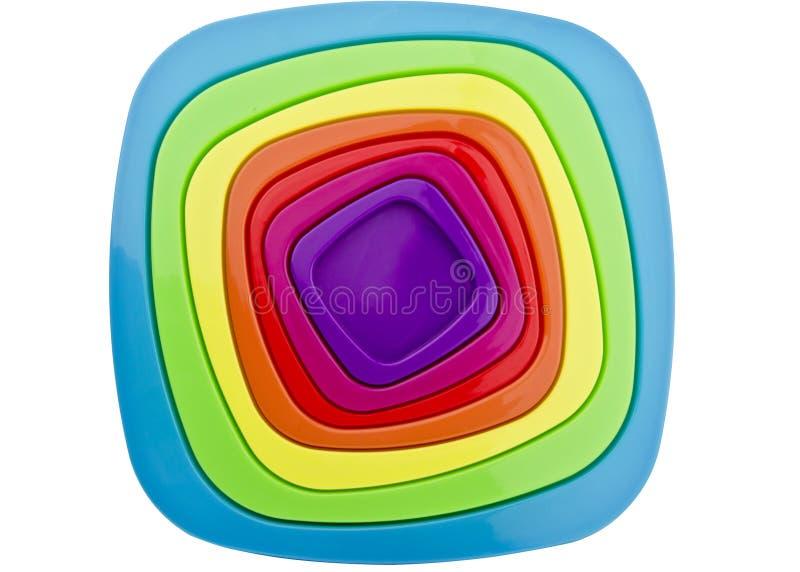 Абстрактные крышки тар для хранения еды иллюстрация вектора