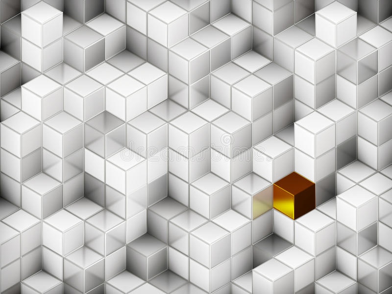 абстрактные кубики предпосылки 3d бесплатная иллюстрация