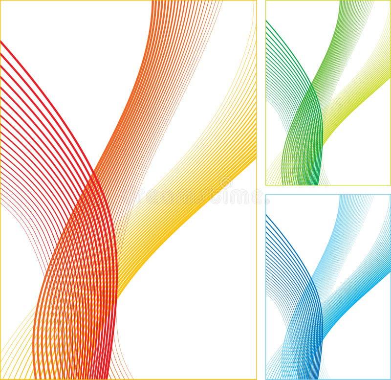 абстрактные линии цвета бесплатная иллюстрация