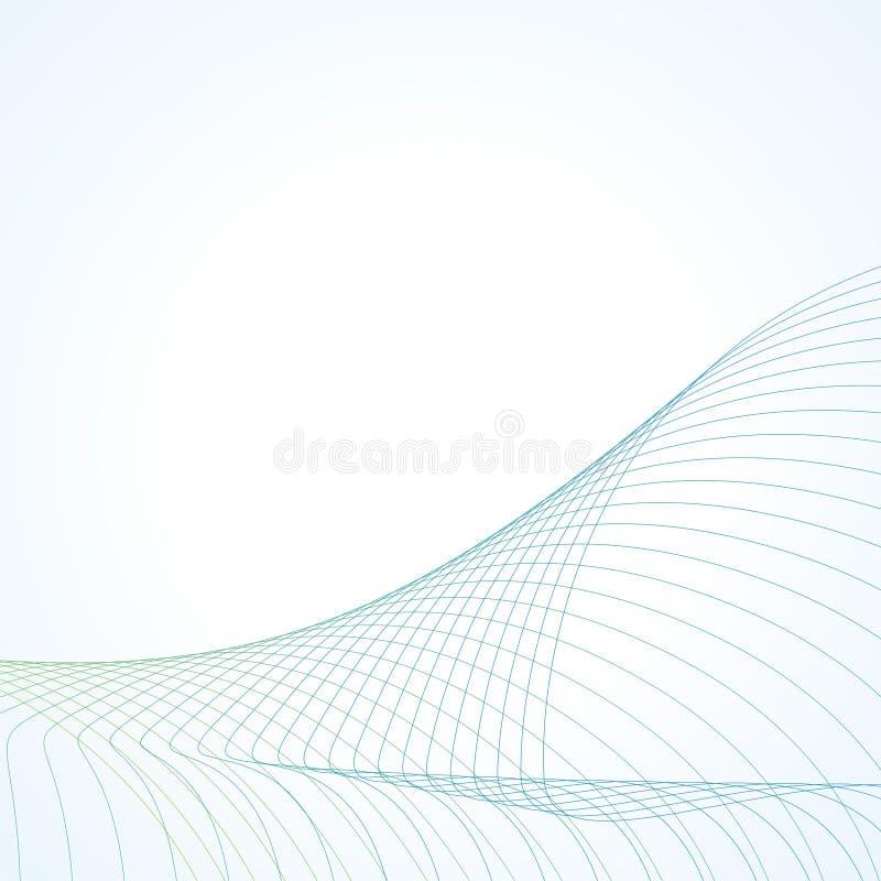 абстрактные линии иллюстрация вектора