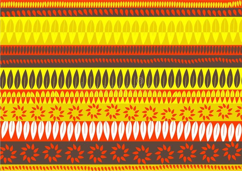 абстрактные листья иллюстрация вектора