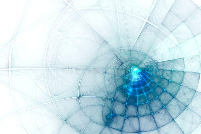 Абстрактные наука дела или предпосылка технологии иллюстрация штока