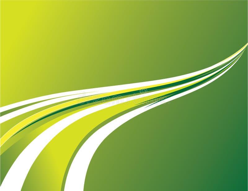 абстрактные нашивки зеленого цвета предпосылки иллюстрация вектора