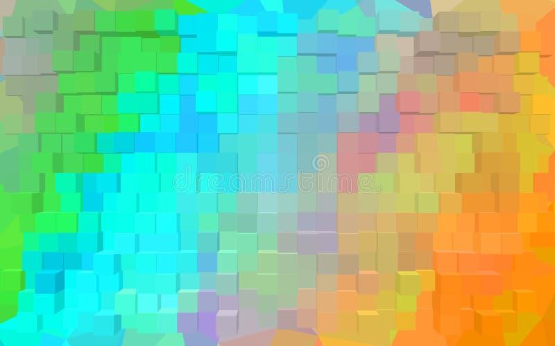 Абстрактные обои картины блока стоковая фотография