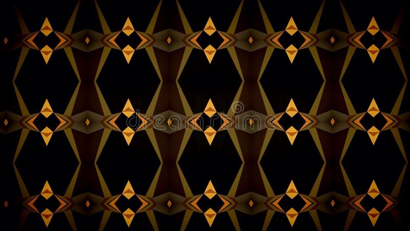 Абстрактные обои картины цвета темной черноты оранжевые стоковое фото