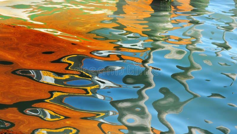 абстрактные отражения стоковое изображение rf