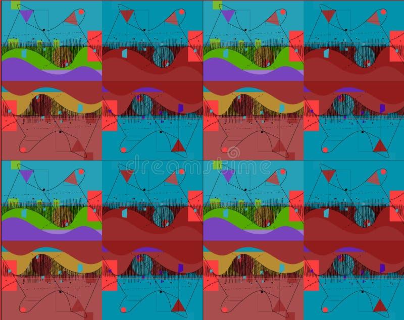 Абстрактные пазы дизайна бесплатная иллюстрация
