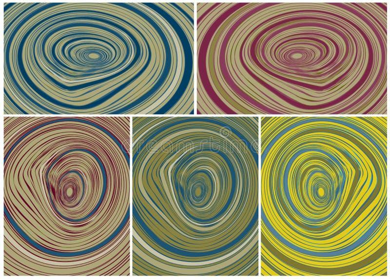 Абстрактные пазы дизайна иллюстрация штока