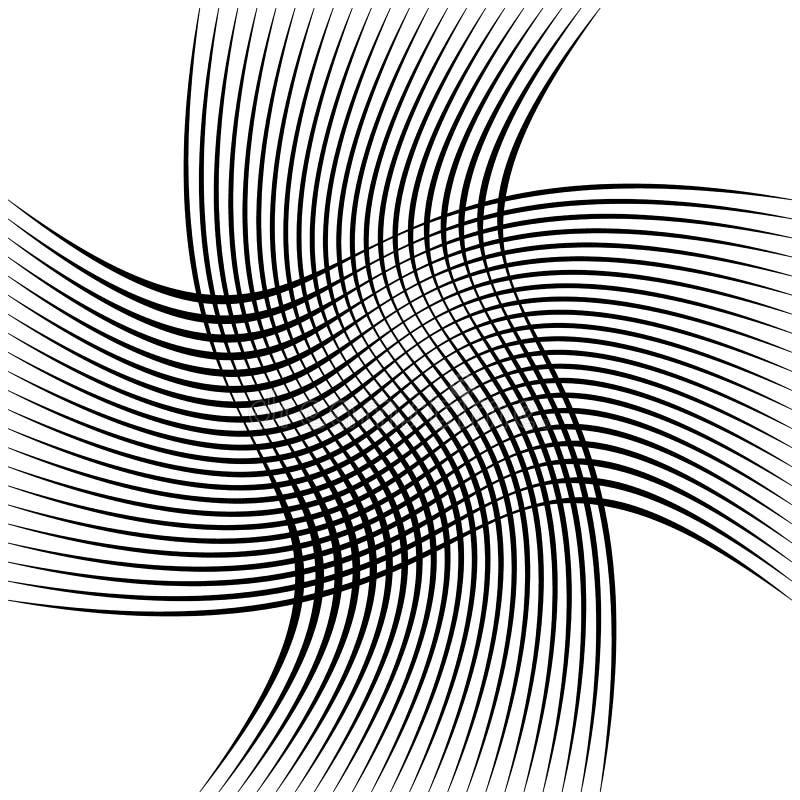 Download Абстрактные пересекая линии, картина отверстия щетки Иллюстрация вектора - иллюстрации насчитывающей reticulate, элемент: 81804106