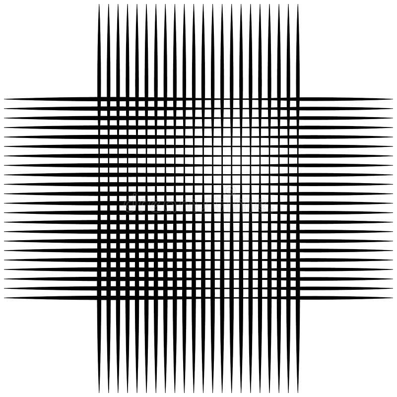 Download Абстрактные пересекая линии, картина отверстия щетки Иллюстрация вектора - иллюстрации насчитывающей клетка, monochrome: 81804115