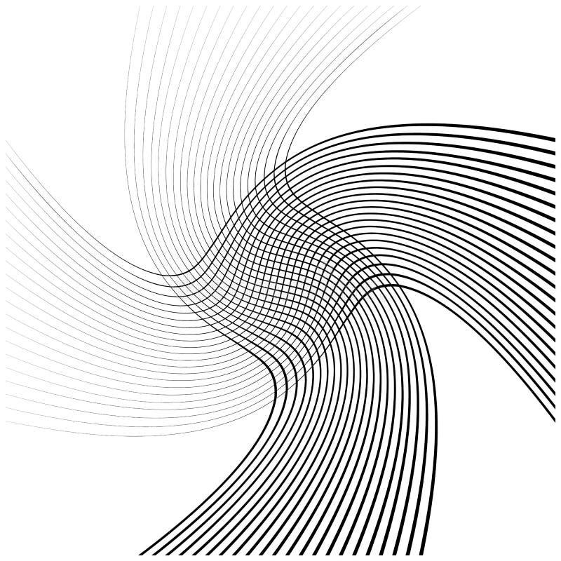 Download Абстрактные пересекая линии, картина отверстия щетки Иллюстрация вектора - иллюстрации насчитывающей иллюстрация, земля: 81804207