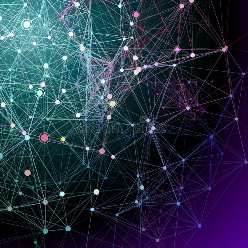 Абстрактные предпосылки связи. бесплатная иллюстрация