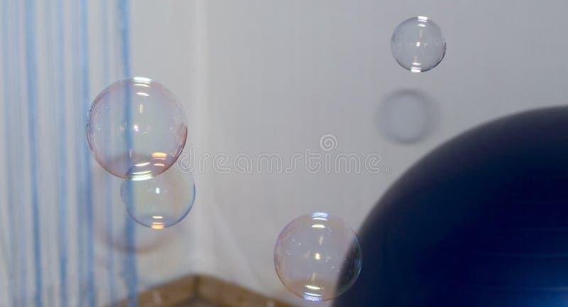 абстрактные пузыри предпосылки стоковая фотография