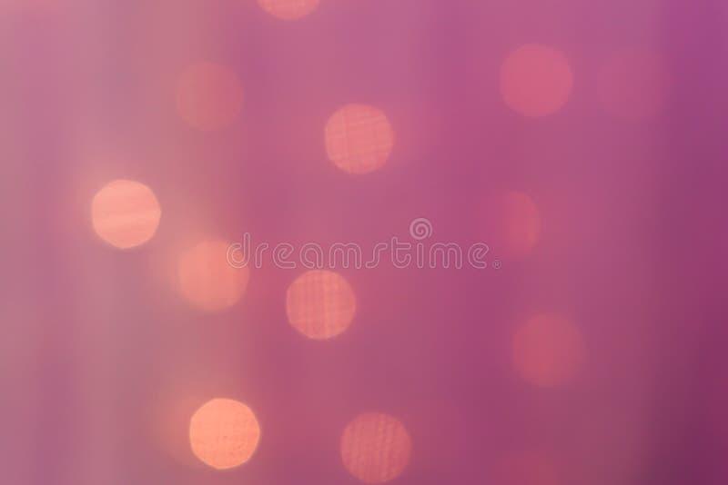 Абстрактные размытые огни на заднем плане в розовых тонах - концепция Ð¿ стоковые фотографии rf