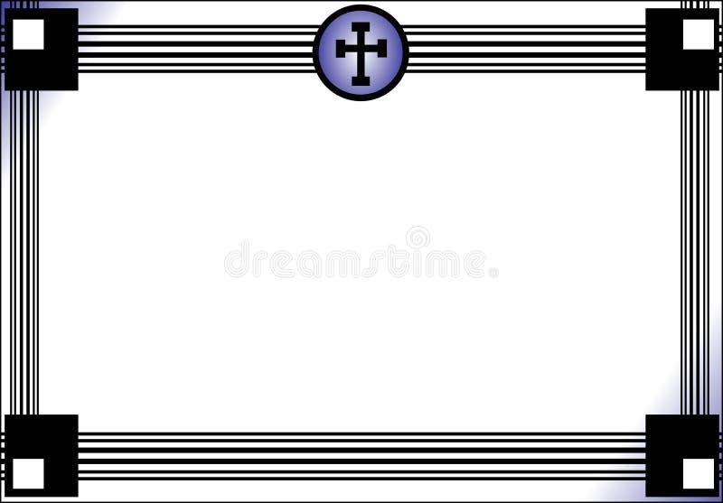 Некролог иллюстрация вектора