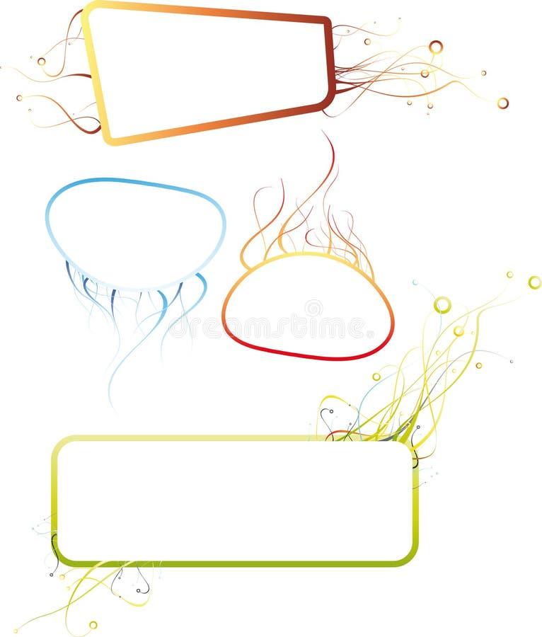 абстрактные рамки бесплатная иллюстрация
