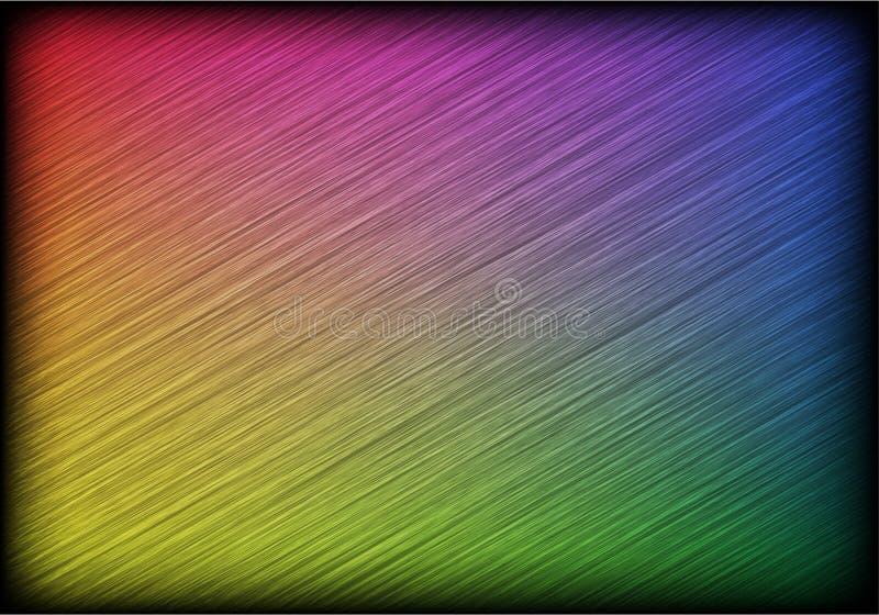 Абстрактные раскосные линии на темной предпосылке иллюстрация вектора