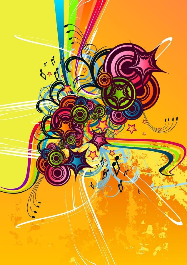 абстрактные свежие греют Стоковые Фотографии RF