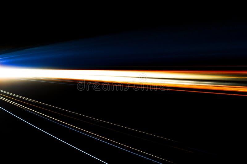 Абстрактные света автомобиля стоковые изображения