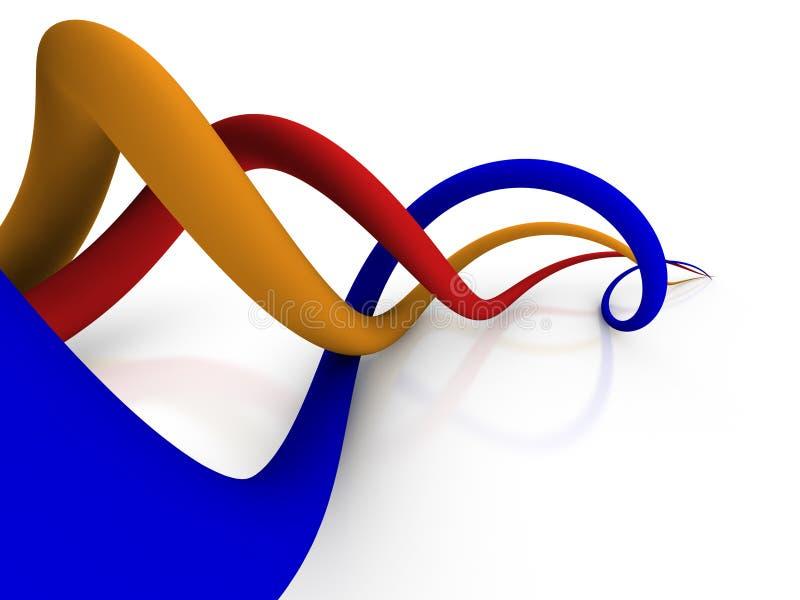 абстрактные соединения иллюстрация вектора