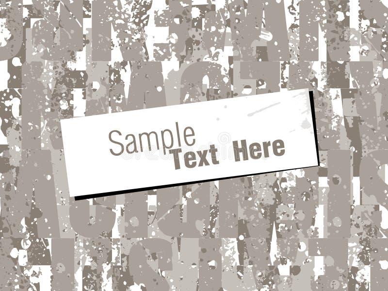 абстрактные стародедовские обои текстуры иллюстрации графиков предпосылки фона иллюстрация вектора