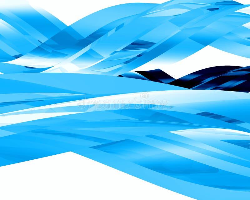 Абстрактные стеклянные элементы 004 Стоковое Изображение