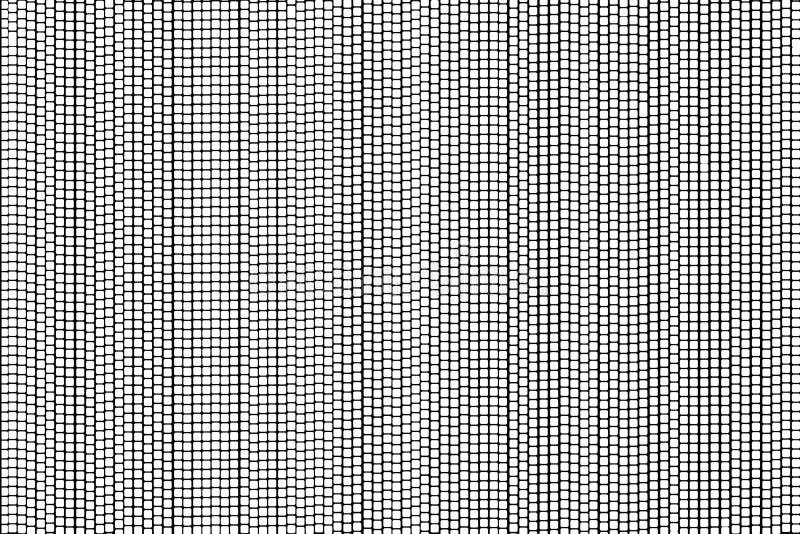 Абстрактные точки польки белого квадрата на черной предпосылке иллюстрация штока
