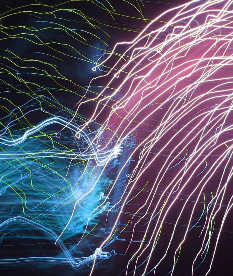 абстрактные феиэрверки стоковые фотографии rf