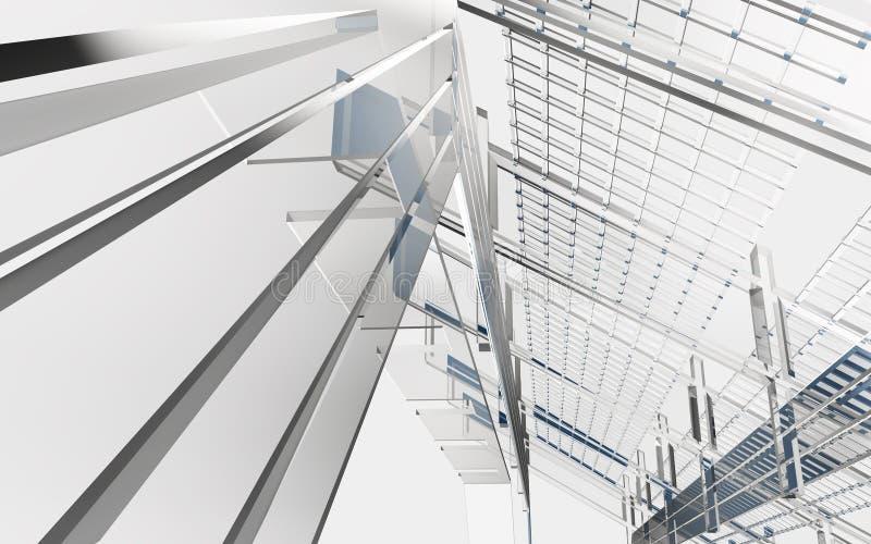 абстрактные формы геометрии конструкции предпосылки бесплатная иллюстрация