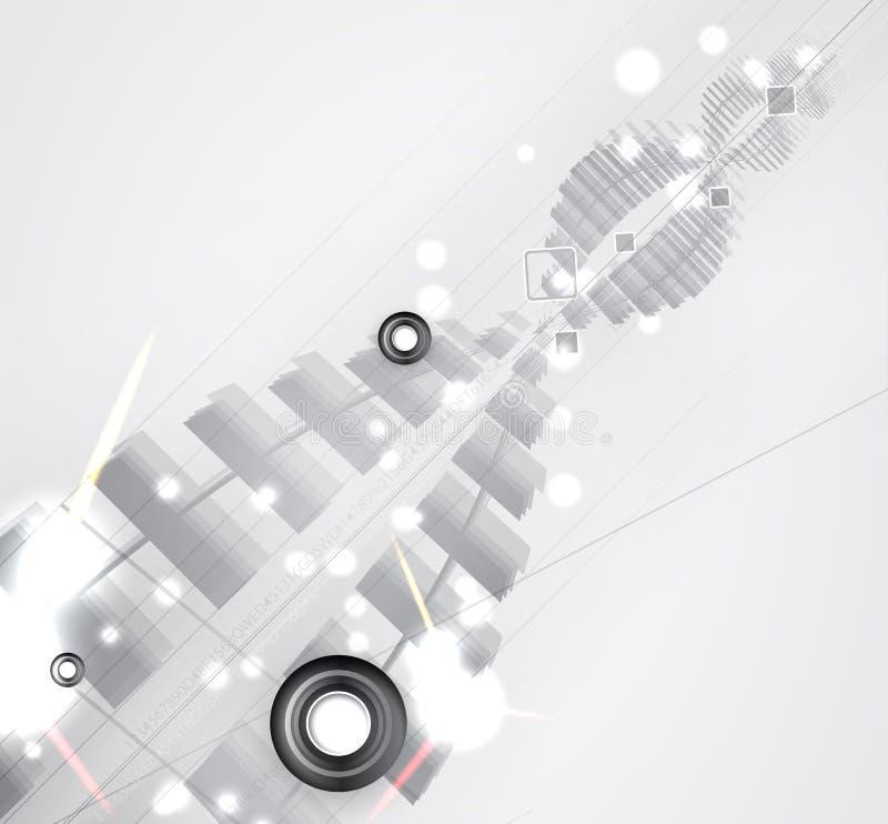 Абстрактные футуристические увядают предпосылка дела компьютерной технологии стоковое фото